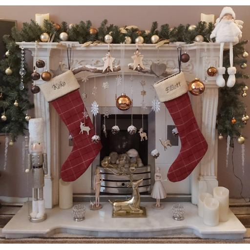 The Ivy & Duke Christmas Stocking